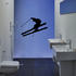 Downhill Skier Decal