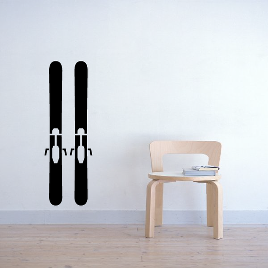 Skis Decal