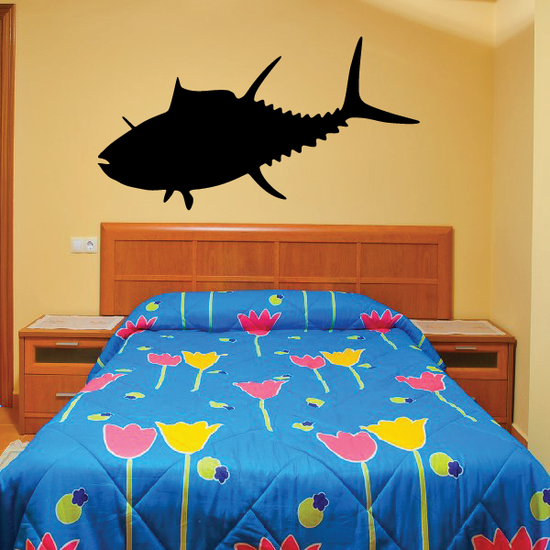 Tuna Fish Wall Decal - Vinyl Decal - Car Decal - 003
