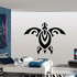 Abstract Symmetrical Sea Turtle Decal