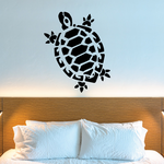 Contour Style Turtle Decal