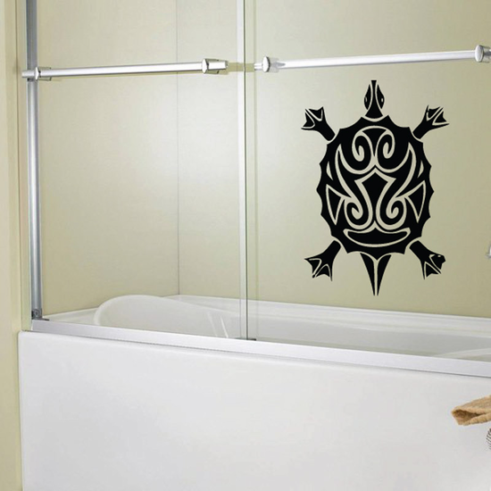 Graceful Turtle Decal