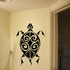 Noble Swirl Back Turtle Decal
