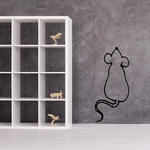 Sitting Mouse Decal
