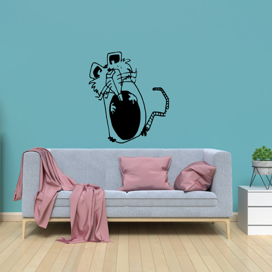 Cute Mouse Standing Decal