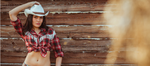 Cowgirl Decals