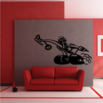 Top Fuel Dragster Cartoon Decal