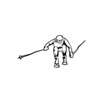Skiing Wall Decal - Vinyl Decal - Car Decal - DC 027