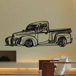 Truck Wall Decal - Vinyl Decal - Car Decal - MC80