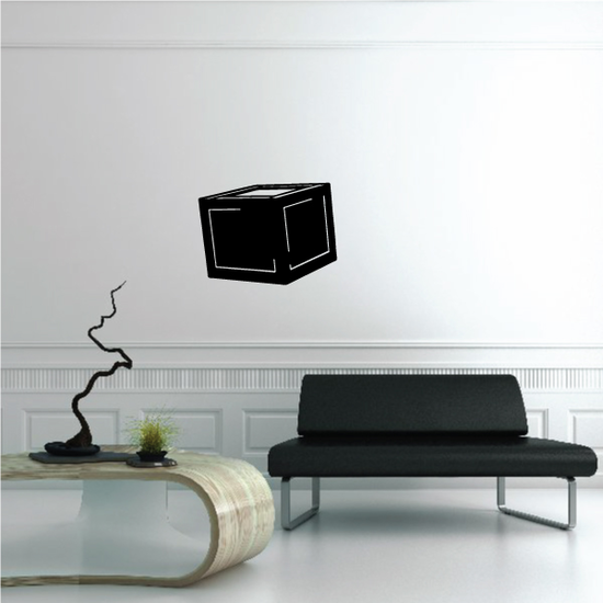 Box Wall Decal - Vinyl Decal - Car Decal - 013