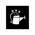 Watering Can Decal