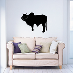 Cattle Cow Brahman Standing Decal