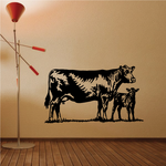 Cattle Cow Mother and Calf Decal
