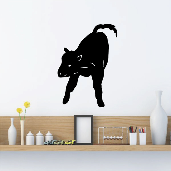 Cattle Cow Wagging Tail Decal