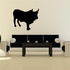 Cattle Cow Hereford Standing Decal