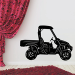Utility Task Vehicle UTV with Roof Decal