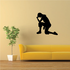 Praying Woman Looking down Decal