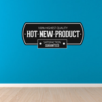 100% Highest Quality Hot New Product Satisfaction Guaranteed  Business Badge Wall Decal - Vinyl Decal - Car Decal - Id006