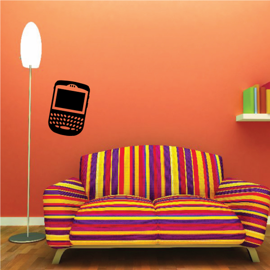 Black Berry PDA Wall Decal - Vinyl Decal - Car Decal - 070