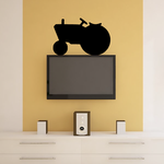 Tractor Shapes Vinyl Wall Decal Sticker Mural Quotes Words SH019