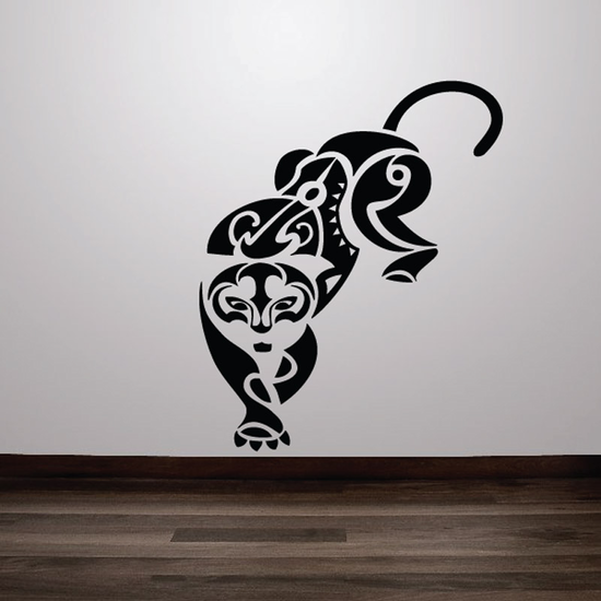 Tribal Cheetah Decal