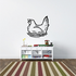 Chicken Hen on Nest Decal