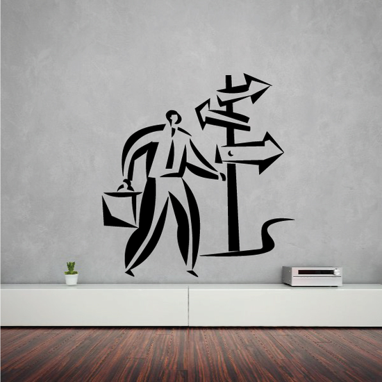 Which Business decision Wall Decal - Vinyl Decal - Car Decal - Business Decal - MC06