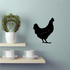 Standing Chicken Decal