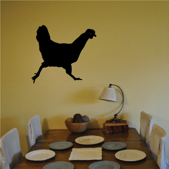 Long Tailed Chicken Decal