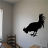 Pecking Rooster Decal