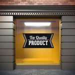 Top Quality Product Business Badge Wall Decal - Vinyl Decal - Car Decal - Id012