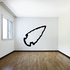 Arrowhead Pointing Right Wall Decal