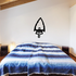Arrowhead Notched to a Stick Wall Decal