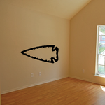 Arrowhead Pointing Left Wall Decal