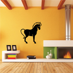 Horse Chinese Zodiac Wall Decal - Vinyl Decal - Car Decal