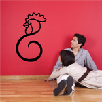 Rooster Chinese Wall Decal - Vinyl Decal - Car Decal - 2