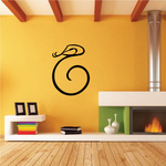 Snake Chinese Wall Decal - Vinyl Decal - Car Decal - 2