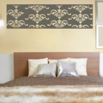 Damask Wall Decal - Vinyl Decal - Car Decal - Vd005