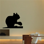 Chipmunk and Nut Decal
