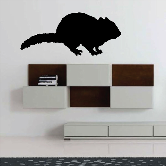 Chipmunk Silhouette Decal