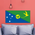 Christmas island Flag Sticker
