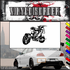 Chopper Wall Decal - Vinyl Decal - Car Decal - SM004