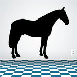 Cleveland Bay Horse Decal