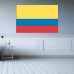 Colombia Flag Sticker 01