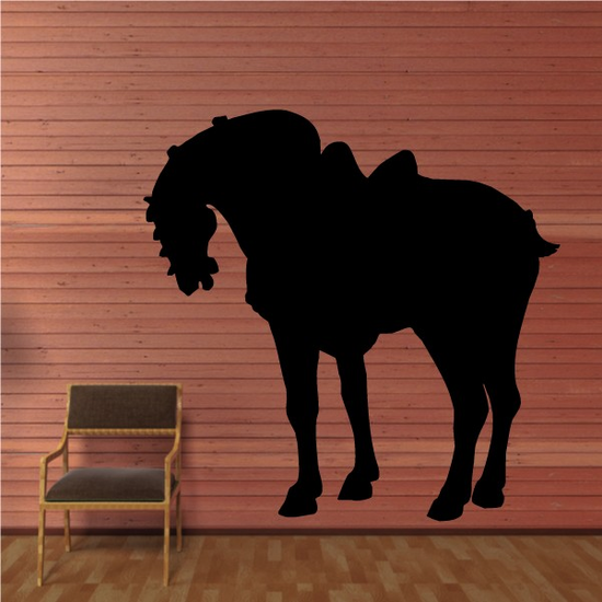 Tang Dynasty Horse Decal
