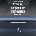 This Is What An Average Responsible Gun Owner Looks Like Decal
