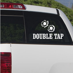 Double Tap Decal
