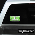 Connecticut Zombie Hunting Permit Sticker