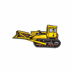 Lifted Bulldozer Decal