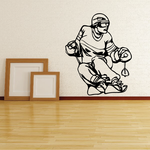 Skiing Wall Decal - Vinyl Decal - Car Decal - CDS040